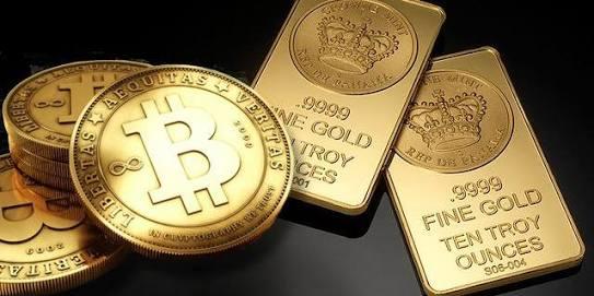 Oro plata y bitcoin. Reservas de valor en el tiempo